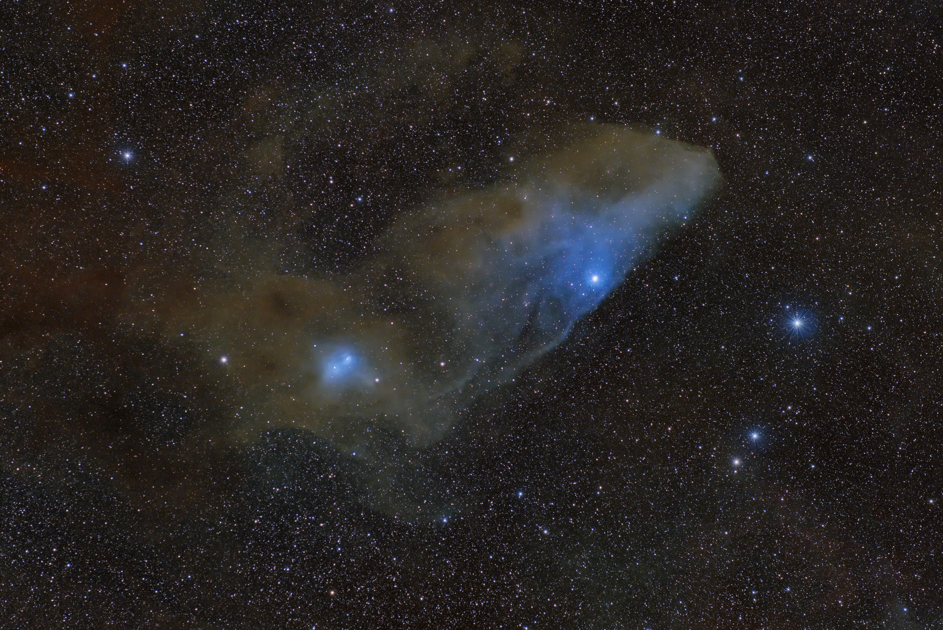Blue Horsehead with ASI2600
